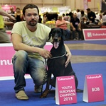 Best of Breed with owners